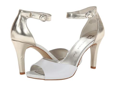 Anne Klein - Opalize (White With Metallic) High Heels