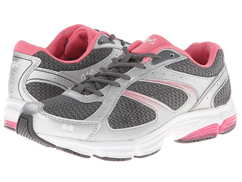 Ryka - Tandem SMR (Metallic Steel Grey/Chrome Silver/Pink Lemonade) Women's Running Shoes