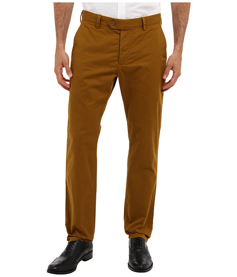 French Connection - Machine Gun Stretch Trouser (Tapenade) Men's Casual Pants