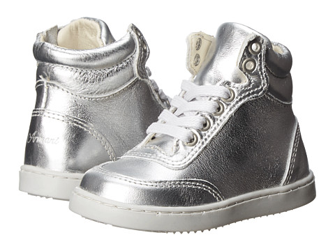 Armani Junior - ZE531WA (Toddler/Little Kid) (Silver) Boy's Shoes