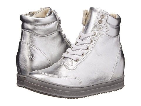 Armani Junior - Z3531WA (Little Kid/Big Kid) (Silver) Boy's Shoes