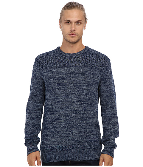 French Connection - Rick Rack Indigo Sweater (Raw) Men