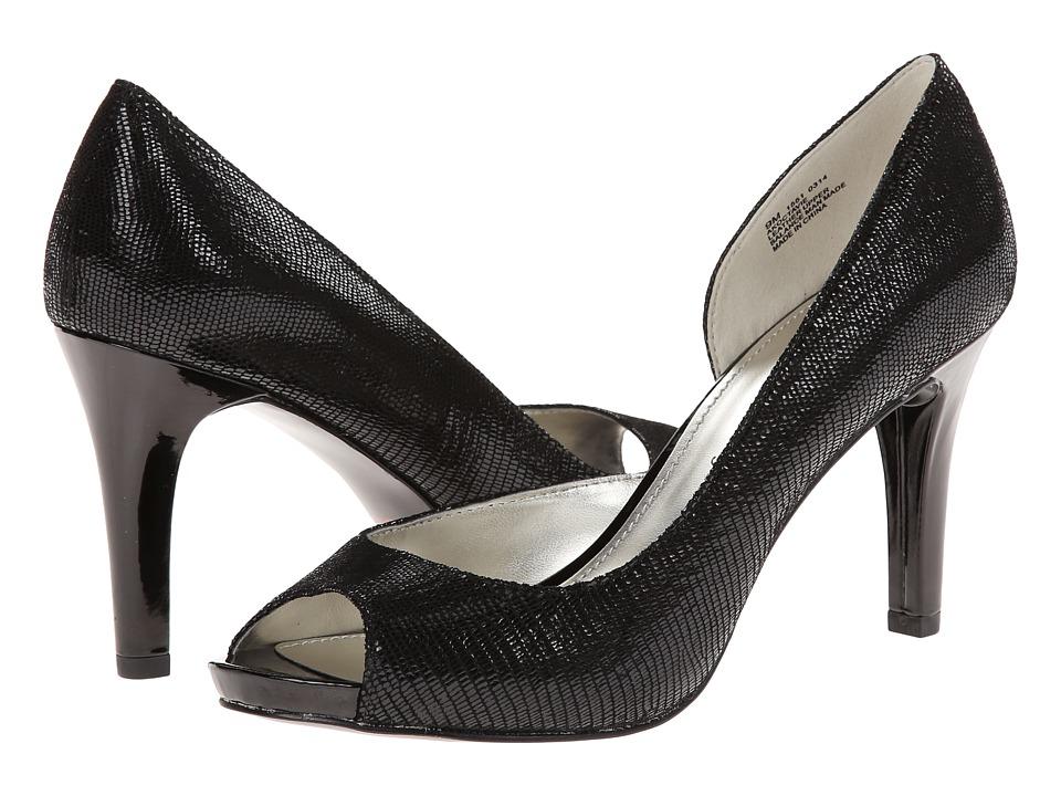 Anne Klein - Octavie (Black Reptile) High Heels