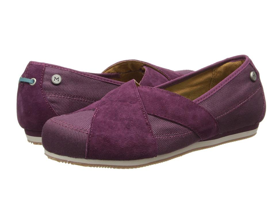 MOZO - Sport - Suede/Canvas (Pur) Women's Shoes