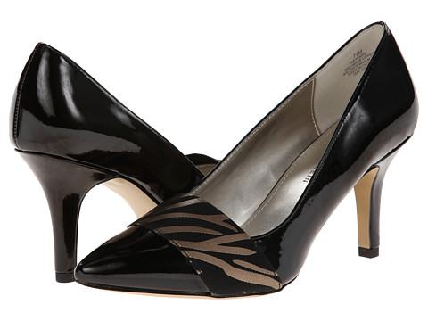 Anne Klein - Yamini (Black/Zebra) Women's Shoes