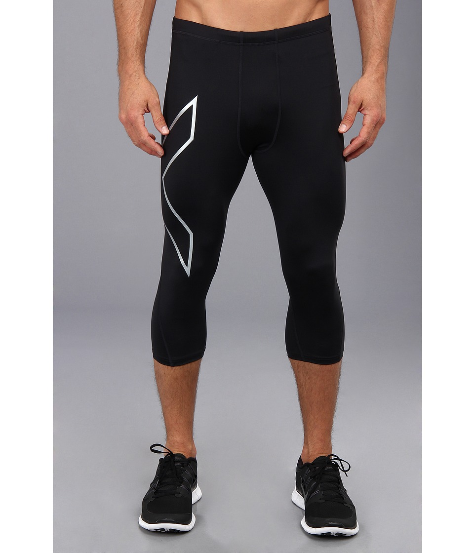 2XU - Compression 3/4 Tights (Black/Nero) Men's Casual Pants