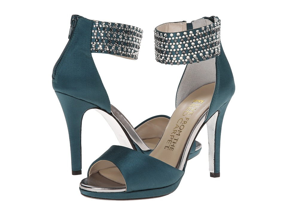 E! Live from the Red Carpet - Ronny (Teal Satin) Women's Shoes