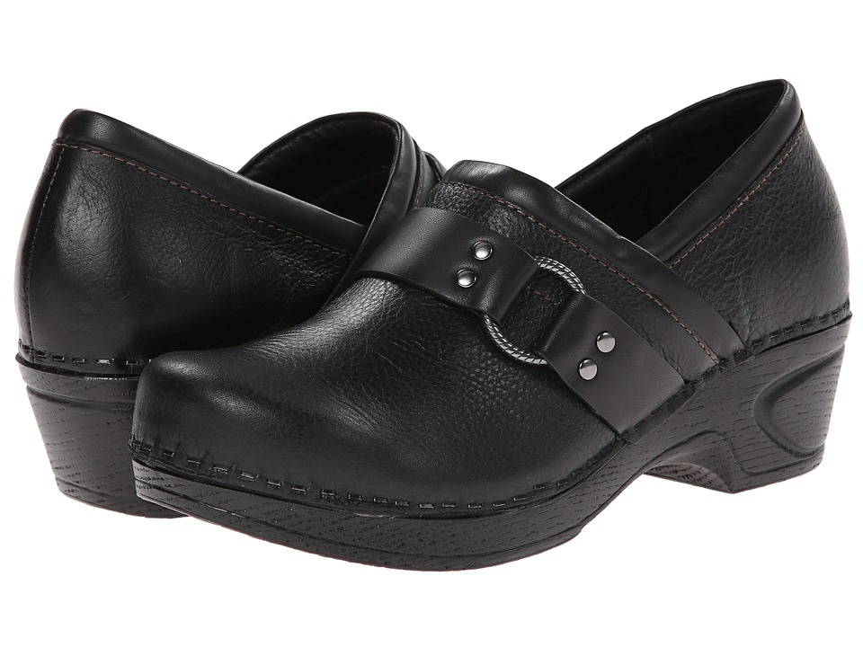 Sofft - Berit (Black/Black Arriba/Lucca) Women's Clog Shoes