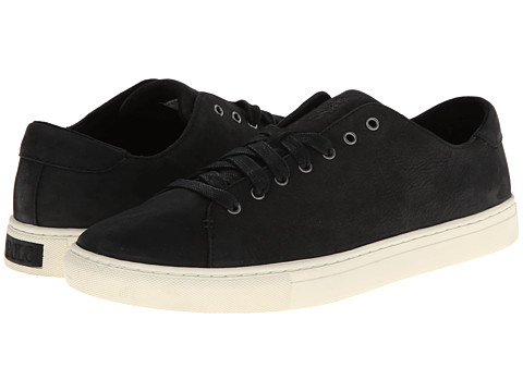 Polo Ralph Lauren - Jermain (Black Tumbled Nubuck) Men's Lace up casual Shoes