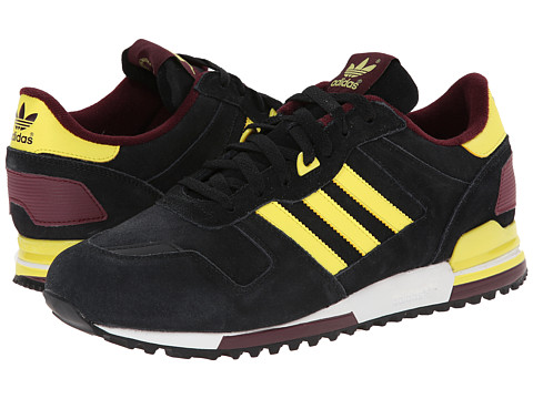 adidas Originals - ZX 700 - Outdoor (Black/Lemon Peel/White Vapour) Men's Classic Shoes
