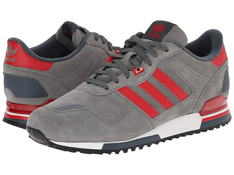 adidas Originals - ZX 700 - Outdoor (Dark Clay/Power Red/White Vapour) Men's Classic Shoes