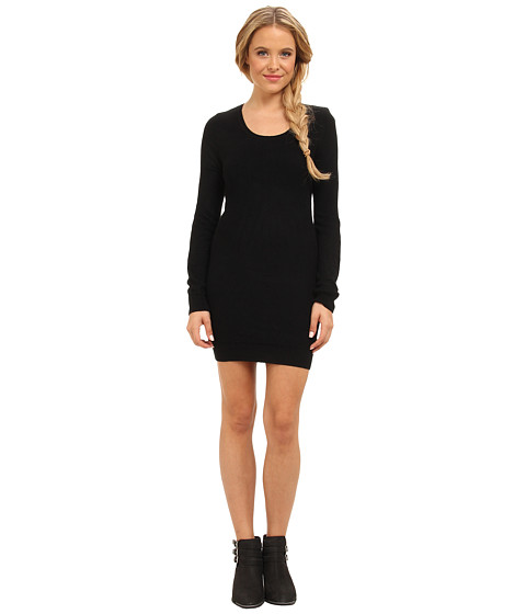 Element - Alps Dress (Black Solid) Women