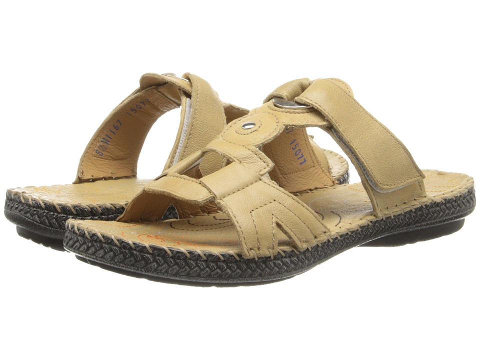 Lobo Solo - Mary (Cream Leather) Women's Sandals