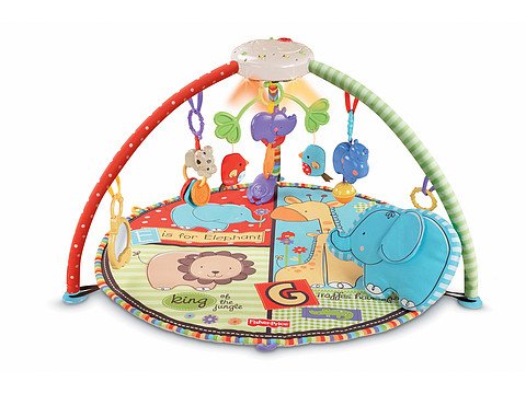 Fisher Price - Deluxe Musical Mobile Gym (Luv U Zoo) Strollers Travel