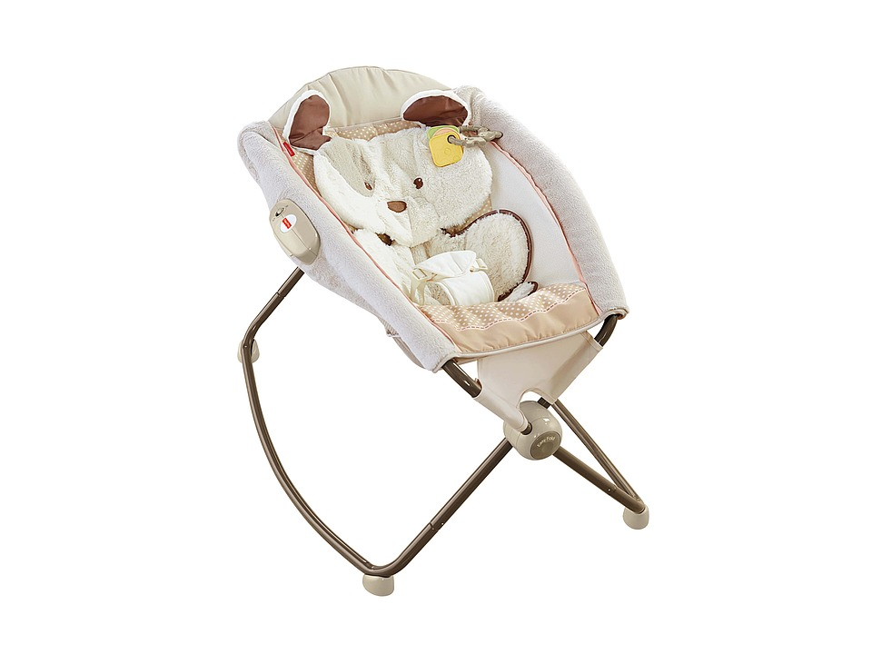 Fisher Price - My Little Snugapuppy Newborn Rock 'n Play Sleeper (Multi) Strollers Travel