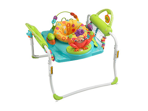 Fisher Price First Steps Jumperoo (Multi) Strollers Travel