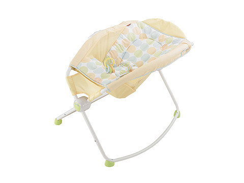 Fisher Price - Newborn Rock 'n' Play Sleeper (Yellow) Strollers Travel