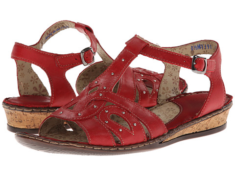 Lobo Solo - Ann (Red Leather) Women