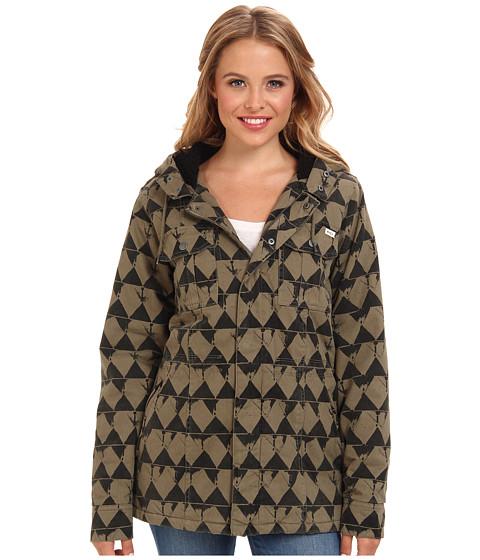 RVCA - Mantra Jacket (Dusty Olive) Women