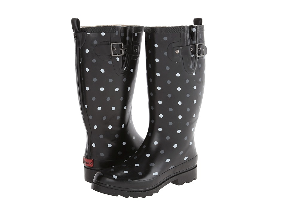 Chooka - Model Dot (Black) Women's Rain Boots