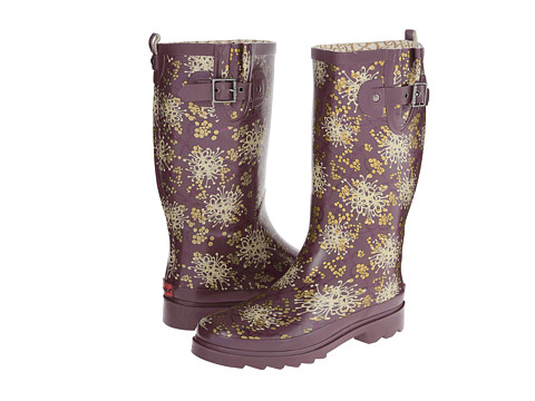 Chooka - Winter Bloom (Purple) Women's Rain Boots