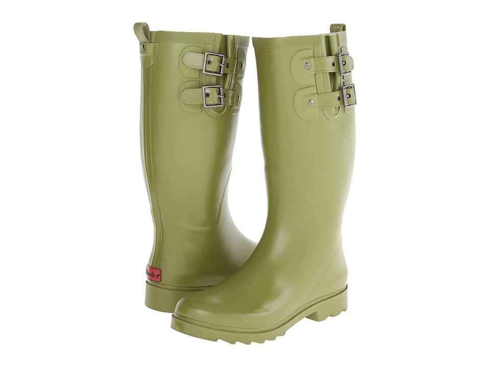 Chooka - Posh Solid Tall (Olive) Women's Rain Boots