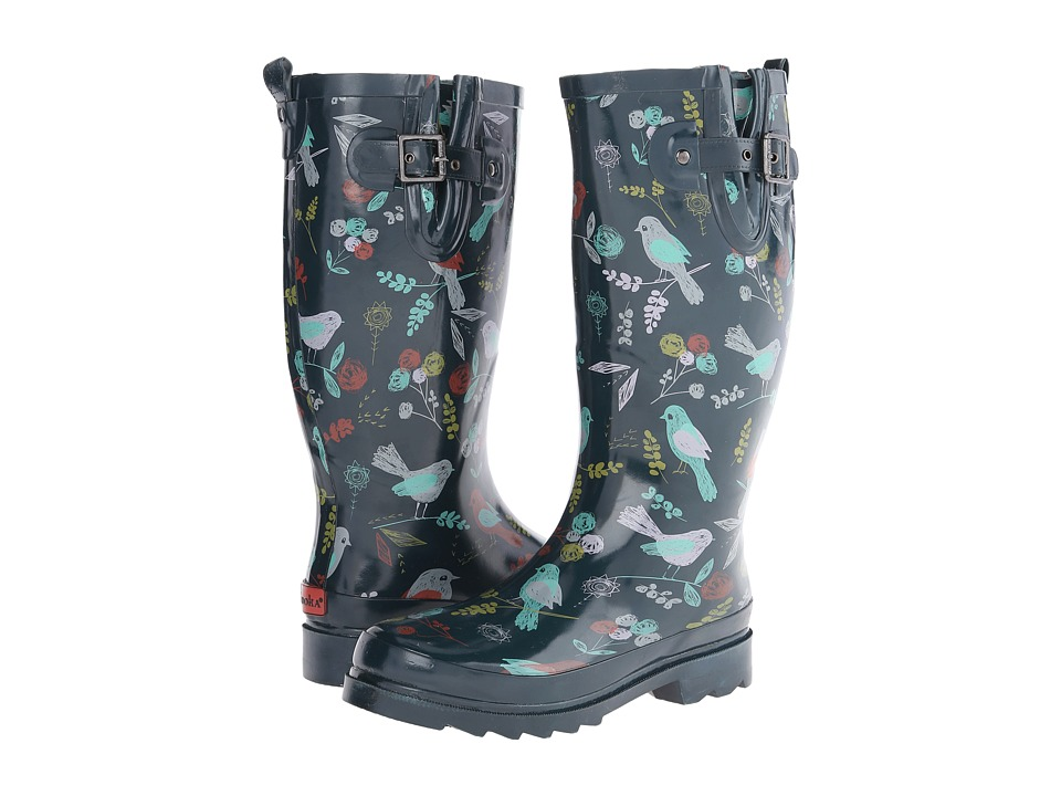 Chooka - Spritely Sparrow (Navy) Women's Rain Boots