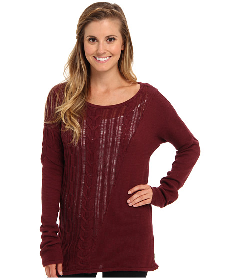 RVCA - Quiver Sweater (Truffle) Women's Sweater