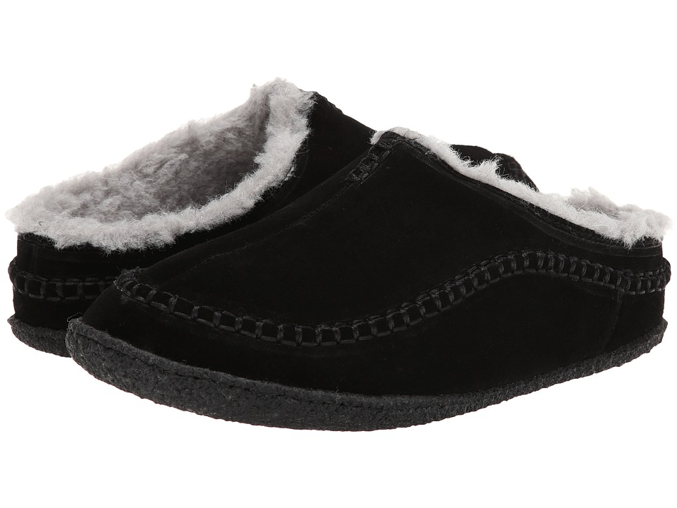 Tundra Boots - Cedar (Black) Men's Slippers