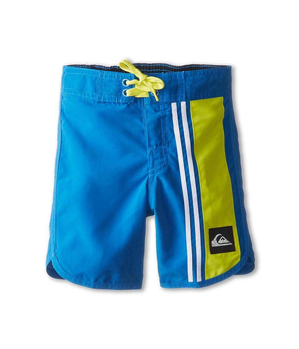 Quiksilver Kids OG Comp Stripe Boardshort Boys Swimwear (Blue)