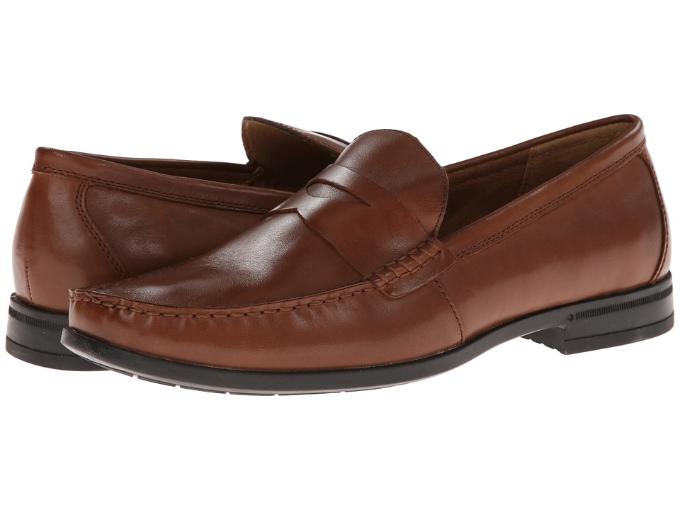 Nunn Bush - Westby Penny Slip-On Penny Loafer (Cognac) Men's Slip on Shoes