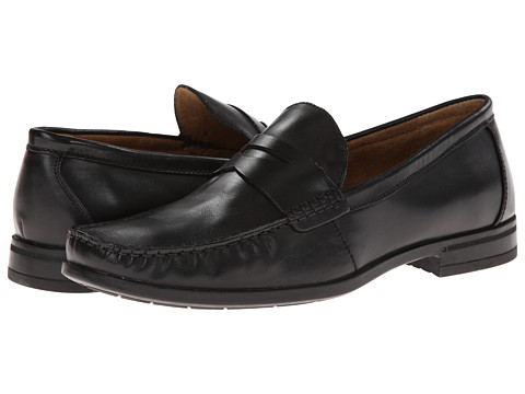 Nunn Bush - Westby Penny Slip-On Penny Loafer (Black) Men's Slip on Shoes