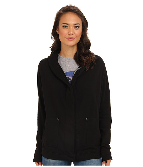 Roxy - Hesitation Blues Coat (Tru Black) Women