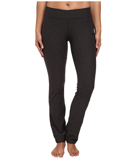 adidas - Ultimate Straight Pant (Dark Grey Heather) Women's Clothing