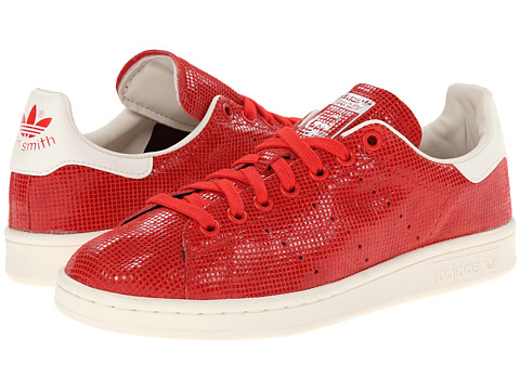 adidas Originals - Stan Smith W (Red/Chalk White) Women's Classic Shoes