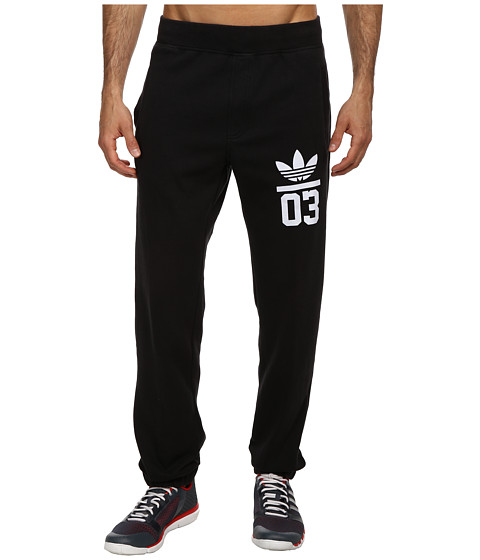 adidas Originals - 3Foil Track Pant (Black/White) Men