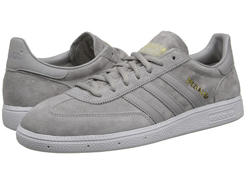 adidas Originals - Spezial (Mgh Solid Grey/Gold Metallic) Shoes