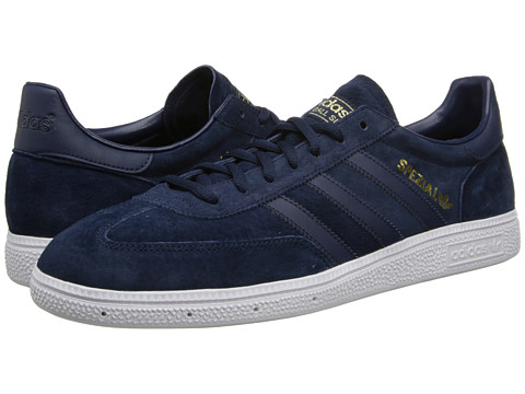 adidas Originals - Spezial (Collegiate Navy/Gold Metallic) Shoes