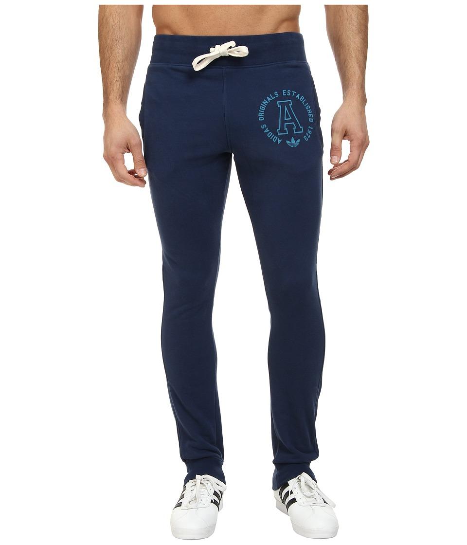adidas Originals - Slim French Terry Sweatpants (St Dark Slate) Men's Casual Pants