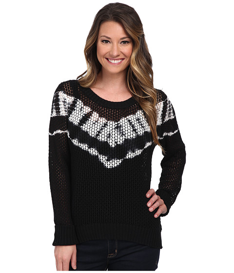 Billabong - Sea You Around Sweater (Off Black) Women's Sweater
