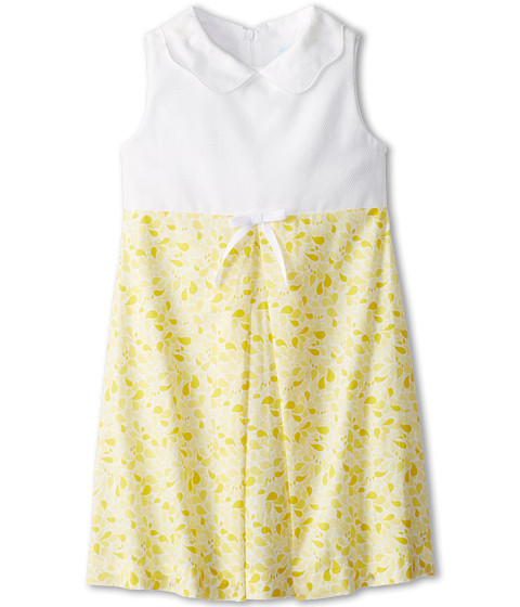 Elephantito - A Line Dress (Little Kids/Big Kids) (Lemon Drops) Girl's Dress