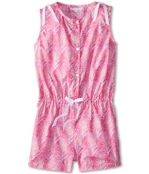 Elephantito - Romper (Pink Feathers) Girl's Jumpsuit & Rompers One Piece
