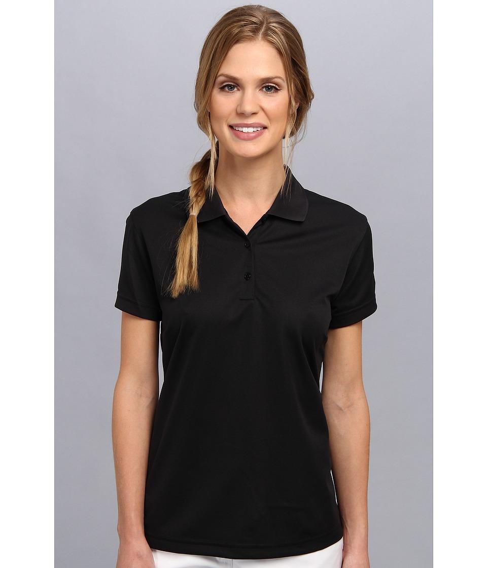 Zappos.com Gear - Zappos.com Polo (Black) Women's Short Sleeve Pullover