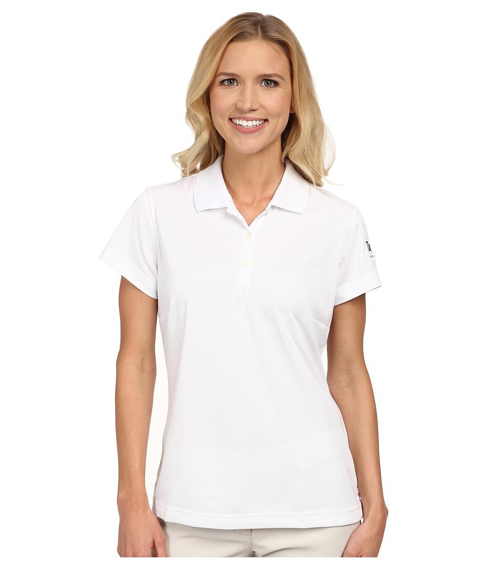Zappos.com Gear - Zappos.com Polo (White) Women's Short Sleeve Pullover