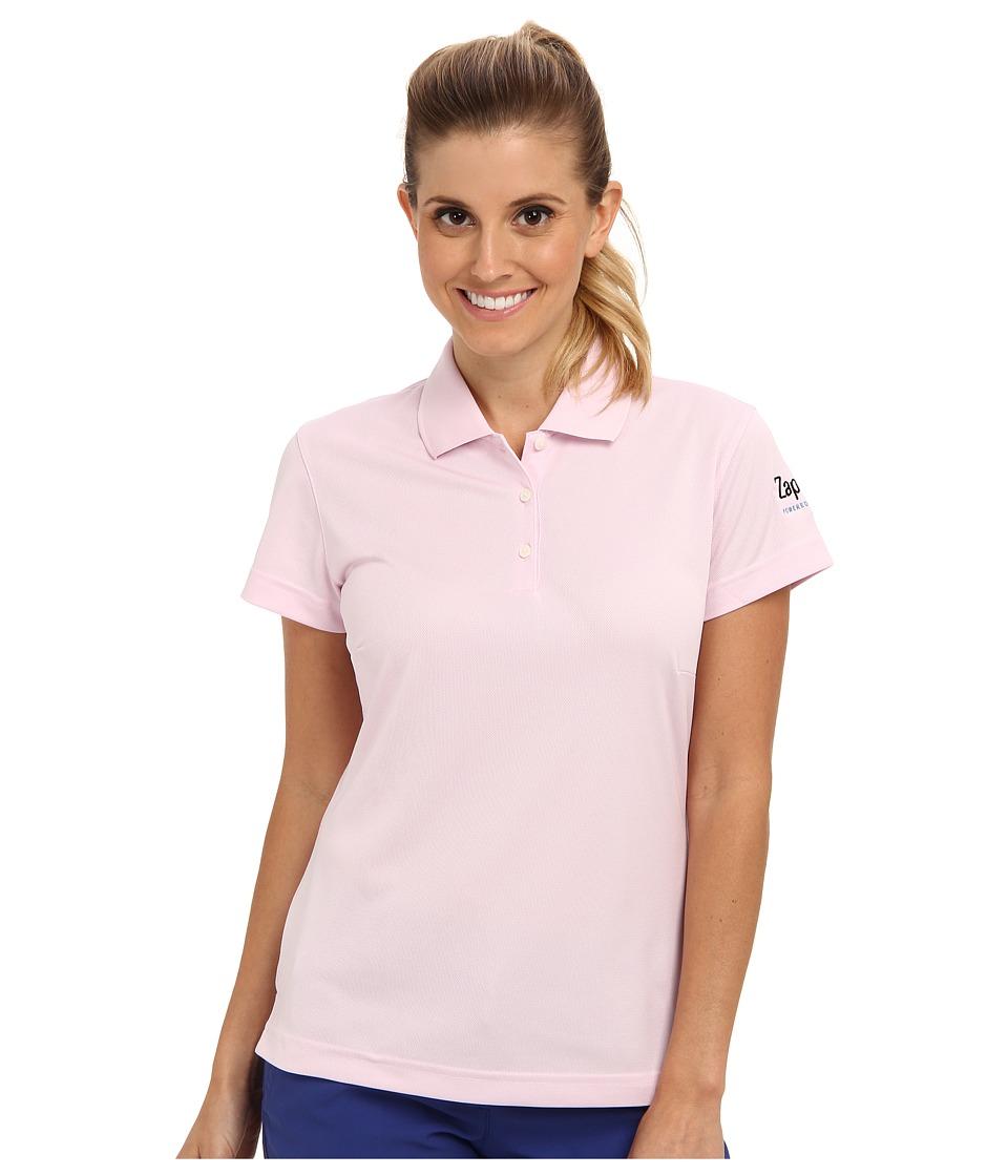 Zappos.com Gear - Zappos.com Polo (Light Pink) Women's Short Sleeve Pullover