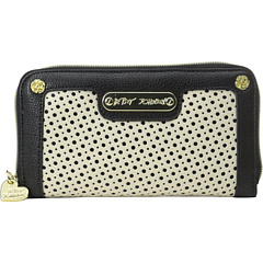 SALE! $37.99 - Save $30 on Betsey Johnson Tuxedo Junction Wallet (Black White) Bags and Luggage - 44.13% OFF $68.00