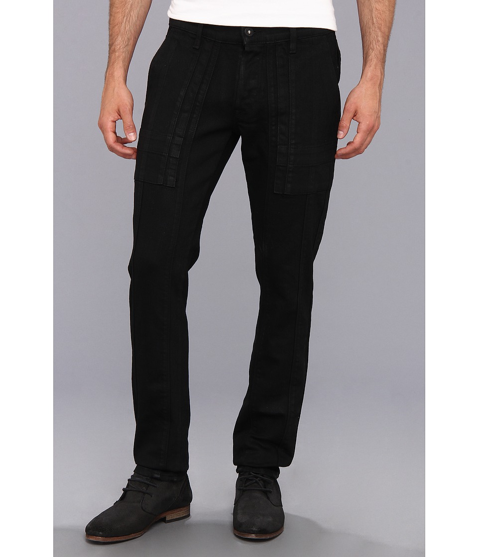 Hudson - The Trouble Stride Cargo in Black Wax (Black Wax) Men's Casual Pants