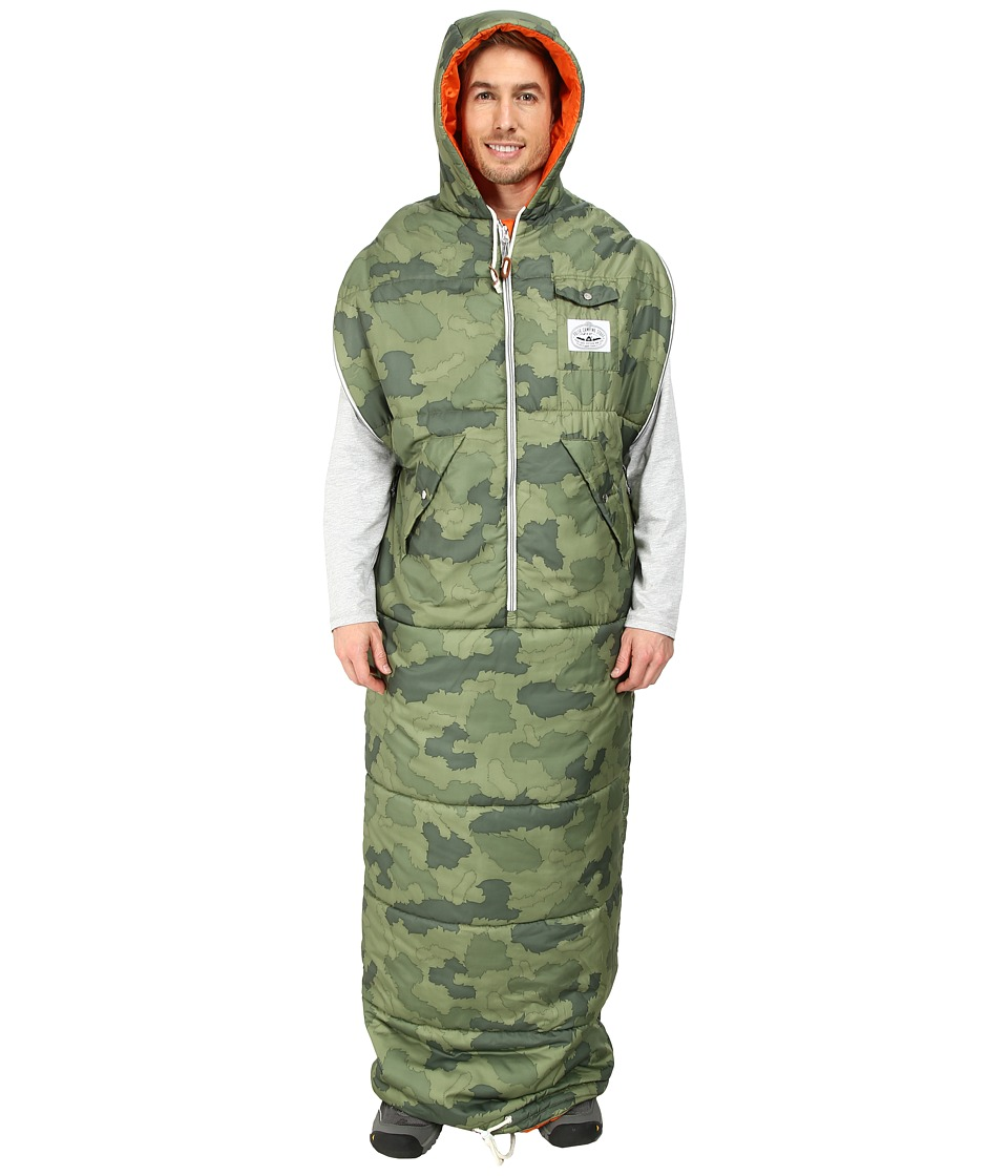 Poler - The Napsack Wearable Sleeping Bag (Furry Camo) Outdoor Sports Equipment