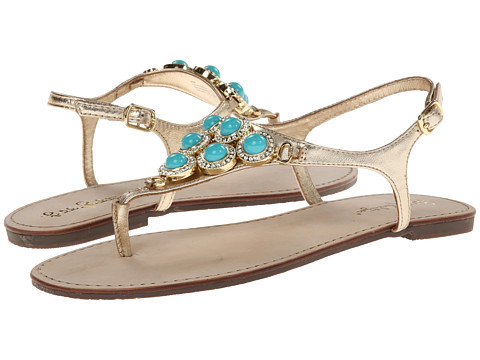 Lilly Pulitzer - Beach Club Sandal (Searulean BL) Women