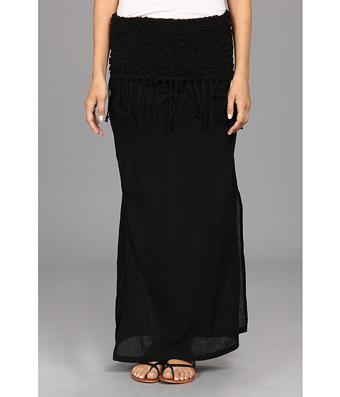 Rip Curl - Love N Surf Maxi Skirt (Black) Women's Skirt